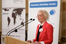 Annette Turmann, Projektleiterin der Servicestelle Kommunen in der Einen Welt (SKEW) von Engagement Global