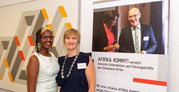 10 Jahre Afrika Kommt Card