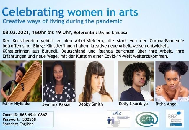 8 3 21 Celebrating Women In Arts Flyer De