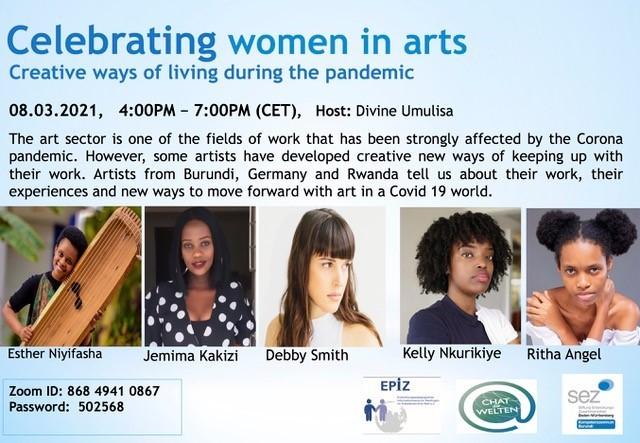 8 3 21 Celebrating Women In Arts Flyer En