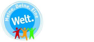 Logo der Initiative Meine. Deine. Eine Welt