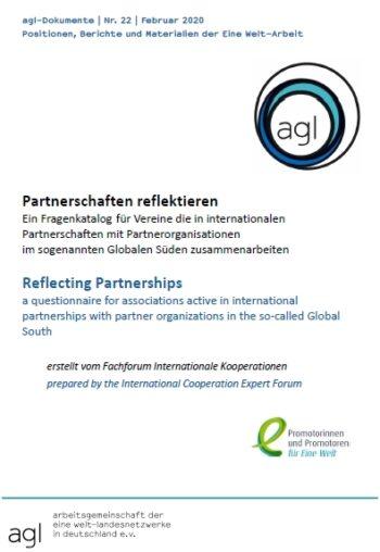 Deckblatt Fragenkatalog Partnerschaften
