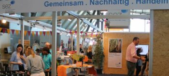 Messestand Sez Inhalt
