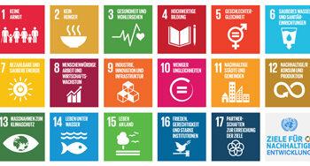 Sustainable Development Goals Poster German Card