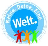 Logo Meine. Deine. Eine Welt. 2021