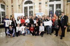 Fellbach erhielt den 1. Preis in der Kategorie Mittlere Kommunen beim Wettbewerb der landesweiten Initiative Meine. Deine. Eine Welt. 2019 der Stiftung Entwicklungszusammenarbeit Baden-Württemberg (SEZ).